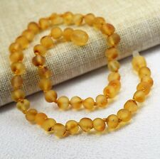 Amber necklace, Genuine Raw Amber necklace, Baltic amber, Free Postage.