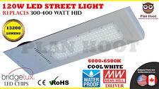 120 Watt LED Street Light Road Outdoor Floodlight Pole ShoeBox Garden Industrial
