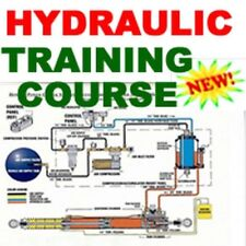 Hydraulic Systems Power Valve and Pump Instruction Training Manual Course CD
