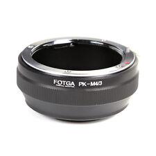 Pentax PK K objetivo a Micro 4/3 M4/3 Adaptador Para GF6 GF5 G6 GX7 E-P5 E-PL5