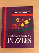 Mind-Bending Lateral Thinking Puzzles Hardcover Book