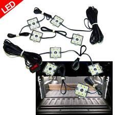 8pc Truck Bed White LED Lighting Light Kit For Chevy Dodge GMC Trucks
