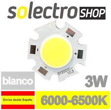 Diodo LED COB 3W BLANCO LUZ FRIA SMD POWER LED WHITE P0027