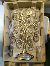 """THINGS REMEMBERED FAMILY TREE PHOTO PEWTER 20 PICTURE FRAME 16"""""""