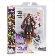 """Disney Marvel Select STAR LORD Guardians Of The Galaxy 7"""" Pratt Action Fig NEW"""