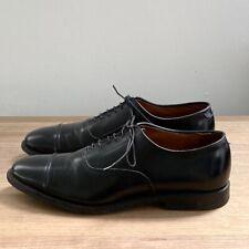 Allen Edmonds Park Ave Black Oxford Cap Toe Shoe Men's 8.5 D