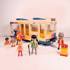 Playmobil 7151 City Bus Vintage Set with Figures