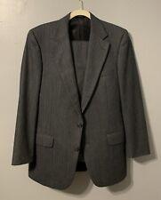Burberry London Men's Bond Street 2-Button Suit Pinstripes Gray •