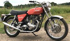 1970 Norton Commando 750cc Roadster, matching numbers, very original bike