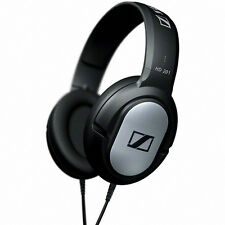 Sennheiser HD 201 Over-Ear Headphones Lightweight Comfortable Powerful Sound