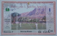 ENGLAND SOUTH AFRICA CRICKET TICKET 2ND TEST LORDS 2003