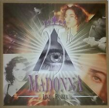 "MADONNA LIKE A PRAYER 12"" PICTURE DISC #2 (25TH ANNIVERSARY) COLORED LTD POSTER"