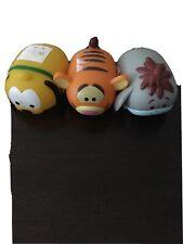 Disney /Pixar Winnie The Pooh & Pals Glow Buddies Tsum Tsum Set Of 3 Euc