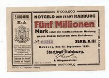 bay1252  Nabburg,  5 Mio Mark