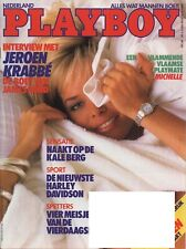 Dutch Playboy Magazine 1987-08 Michelle Demaret, Pierette Le Pen, Marie-Anne ...