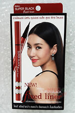 Mistine SUPER BLACK FIXED Eyeliner MakeUp Strong + Beautiful Artist Recommended
