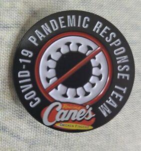 Raising Cane's 2020 Pandemic Response Team Hat Lapel Pin EUC