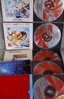 Dire Straits- 5-CD-Sammlung- Red Swirl-Frühauflagen- Made in France