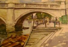 LANDSCAPE RICHMOND BRIDGE BEATRICE PEDDER W/COL C1923