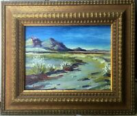 CA Artist's Colllected:US Dept of State Embassy: Hwy 40  Ludlow California