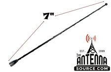 "7"" Black Spring Stainless AM/FM Antenna Mast Fits: 1996-2000 Plymouth Breeze"