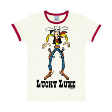 Comic: Wilder Westen: Cowboy: Lucky Luke - Showdown - Slimfit T-Shirt, LOGOSHIRT