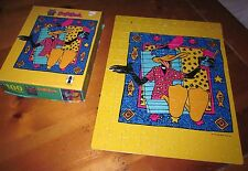 DAFFY DUCK jigsaw puzzle 1990 dayglo Looney Tunes Caribbean Breeze