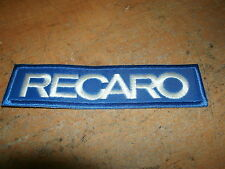 RECARO RACING SEATS BOSS 302 SALEEN RECARO LOGO JACKET SHIRT HAT PATCH BLUE/WHIT