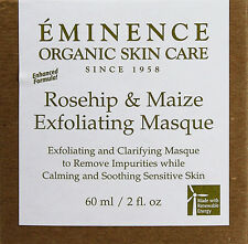 Eminence Rosehip And Maize Exfoliating Masque 2oz(60ml) Oily Sensitive Skin New
