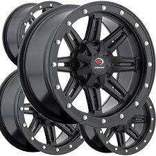 """4) 12"""" RIMS WHEELS for 2007-2014 Yamaha Grizzly 450 4x4 IRS Vision Type 550 ATV"""