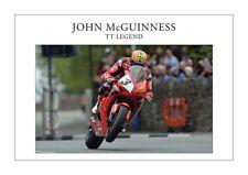 John Mcguinness TT Legend Fine Art Print A3