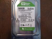 """Western Digital WD5000AADS-56S9B1 DCM:HGNNNT2CEN 500gb 3.5"""" Sata Hard Drive"""