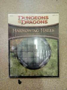 Dungeons and Dragons Harrowing Halls Dungeon Tiles DU6