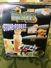 Ban Dai WMAC Masters Stone Forest Action Playset Martial Arts Cardzillion Card