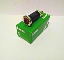 Genuine Lucas Hexagonal Headlamp Warning Light Colour Red LU54363454 LU38189