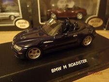 BMW Roadster M Metallic Blue 1-43rd Scale Maxi Car Old Skool Classic Car