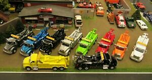 🔥 🚧CHOICE OF COLORS! CUSTOM IH 8600 SEMI TOW TRUCK WRECKER'S 1:64 SPECCAST&DCP
