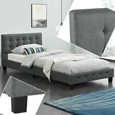 Polsterbett Einzelbett Bett Bett 90 cm Jugendbett Gästebett Lattenrost - B-Ware