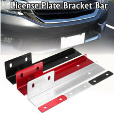 Universal Number License Plate Mounting Bumper Frame Bracket Holder Aluminum