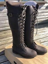 HKM Leather Horse Riding Boots Dublin Uk7 EU 40
