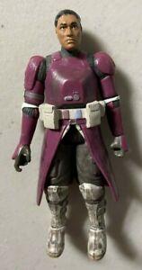 "Star Wars 3 3/4"" Galactic Marine Purple Clone Trooper Action Figure Used"