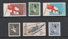 GB Locals - Brecqhou 2963 - 1969 Definitive set of 6 complete unmounted mint