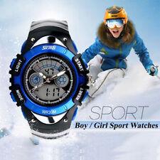 AU Kids SKMEI Waterproof Multifunction Sports Watch Analog Digital Wristwatches