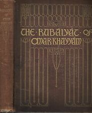 The Rubaiyat of Omar Khayyam. illustrated byHanscom and Cumming. N.Y. 1912.