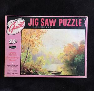 "VINTAGE GUILD Jigsaw PICTURE PUZZLE ""Summer sequel"" Whitman No. 122.  #A80"