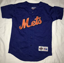 1990s Mlb Diamond Collection New York Mets Mike Piazza #33 Baseball Jersey Youth
