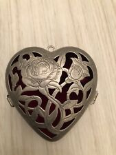 Lennox Christmas Ornament Heart Box