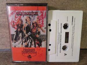 Maximum Destruction by Destructor (Cassette) 1985 Auburn AUTOGRAPHED