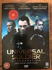 UNIVERSAL SOLDIER REGENERACIÓN ~ 2009 Acción Secuela / 3 / GB DVD con funda