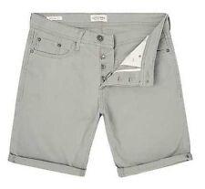 JACK & JONES Mens Rick Originals Grey Regular Fit Shorts size S - Brand New